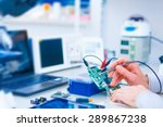 printed circuit board for the... | Shutterstock . vector #289867238