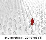 abstract individuality ... | Shutterstock . vector #289878665