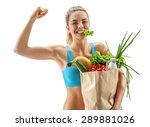 happy cutie athletic woman...