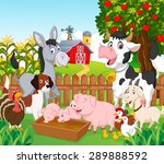 collection animal in the farm | Shutterstock . vector #289888592