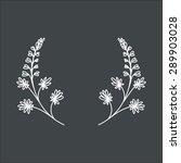 flower urashenie   Shutterstock .eps vector #289903028