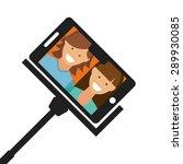 camera app design  vector... | Shutterstock .eps vector #289930085