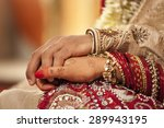 close up of groom holding... | Shutterstock . vector #289943195