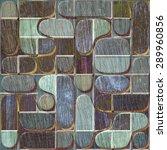 3d wooden pattern  seamless | Shutterstock . vector #289960856