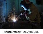 welder   Shutterstock . vector #289981256