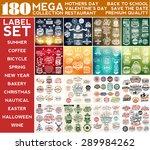 Mega Collection Label Set ...