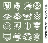 military logos of special... | Shutterstock .eps vector #289992446
