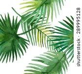 watercolor seamless pattern... | Shutterstock .eps vector #289995128