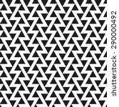 seamless offset triangle pattern | Shutterstock .eps vector #290000492