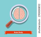 brain research and education... | Shutterstock .eps vector #290000852
