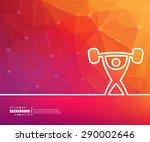 abstract creative concept... | Shutterstock .eps vector #290002646