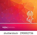 abstract creative concept... | Shutterstock .eps vector #290002736