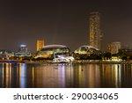 esplanade   theatres on the bay ... | Shutterstock . vector #290034065