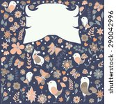 hand drawn background | Shutterstock .eps vector #290042996