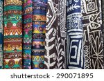 background cloth colorful | Shutterstock . vector #290071895