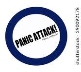 Panic Attack Black Stamp Text...