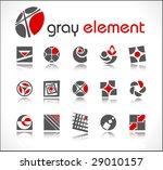 vector design elements. set 5. | Shutterstock .eps vector #29010157
