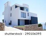 external view of a contemporary ... | Shutterstock . vector #290106395