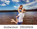 Beautiful Happy Couple Is...