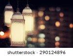 ramadan lantern   Shutterstock . vector #290124896