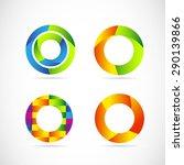vector company logo icon... | Shutterstock .eps vector #290139866