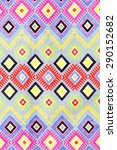 colorful thai silk handcraft...   Shutterstock . vector #290152682