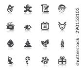 set of flat icons about... | Shutterstock .eps vector #290153102