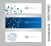vector design banner network... | Shutterstock .eps vector #290174582