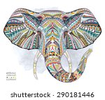 Ethnic Patterned Head Of...