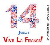 14th july bastille day of... | Shutterstock .eps vector #290183816