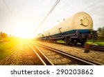 tanks with gas being... | Shutterstock . vector #290203862