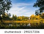 serene autumn scene finland | Shutterstock . vector #290217206