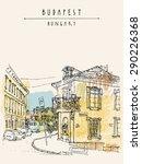 vector illustration of a street ... | Shutterstock .eps vector #290226368