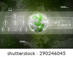 best internet concept of global ...   Shutterstock . vector #290246045