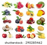 fruits  fruit  passion. | Shutterstock . vector #290285462