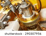 metalworking industry  tooth... | Shutterstock . vector #290307956