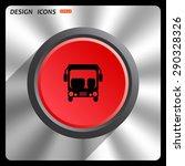 bus. icon. vector design | Shutterstock .eps vector #290328326