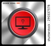 gps. icon. vector design | Shutterstock .eps vector #290337578