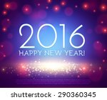 happy new 2016 year. seasons... | Shutterstock .eps vector #290360345