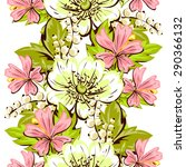 spring delight collection.... | Shutterstock .eps vector #290366132