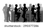 eps8 editable vector cutout... | Shutterstock .eps vector #290377286