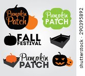 Pumpkin Patch Design Elements ...
