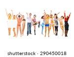 success concept team... | Shutterstock . vector #290450018