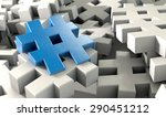 a concept image showing a...   Shutterstock . vector #290451212