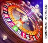 3d rendering of a roulette | Shutterstock . vector #290458532