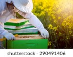 The Apiarist With Full...