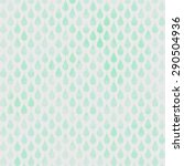 green watercolor drop pattern... | Shutterstock . vector #290504936
