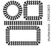 railroad symbol | Shutterstock .eps vector #290513825