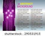 dark purple silver light...   Shutterstock .eps vector #290531915