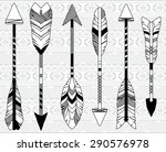 vector collection of stylized... | Shutterstock .eps vector #290576978